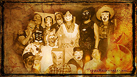 Wallpaper Scary Parents Party