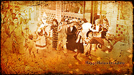Wallpaper 1950s Halloween Parade