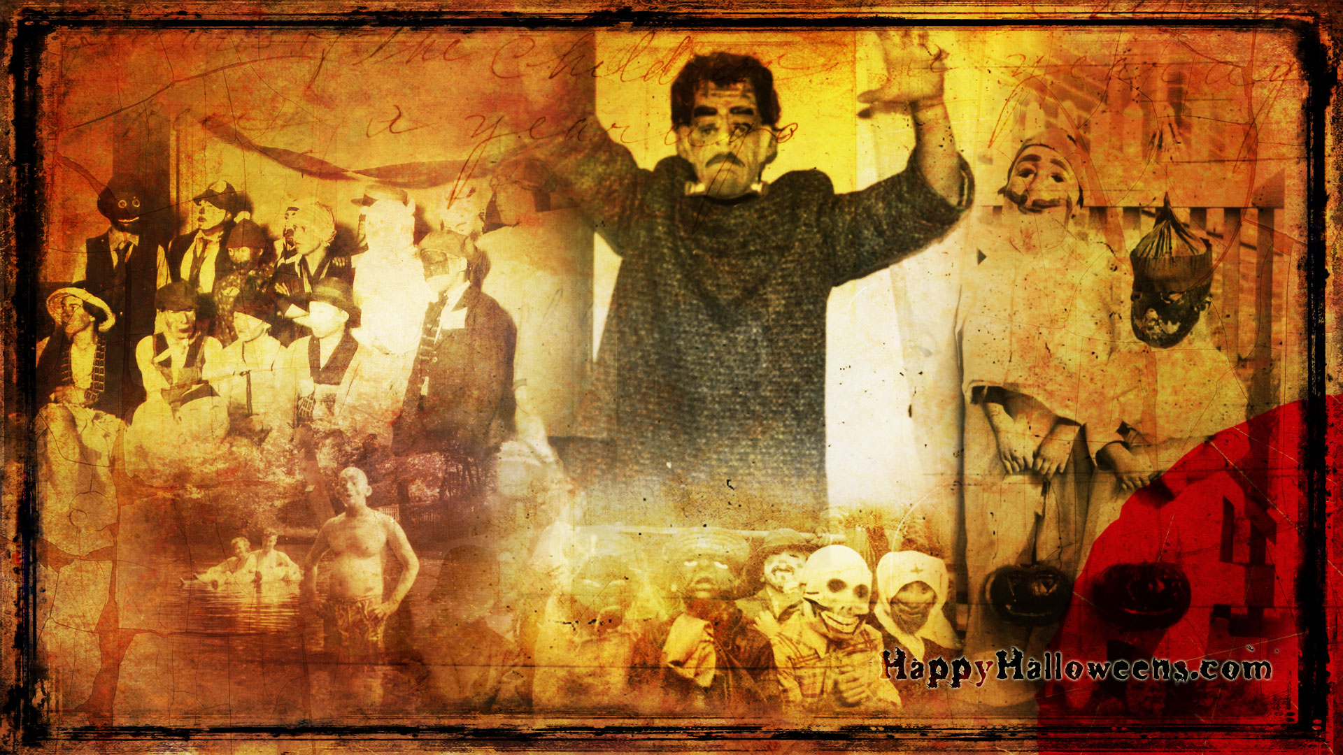 Wallpaper Mad Mask Party Mix