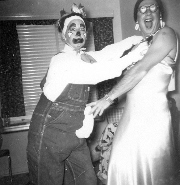 Attack Of The Clown 1950s