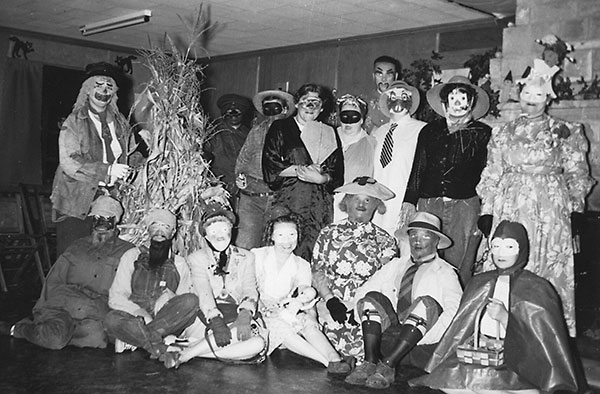 Scout Halloween Party - 1950s