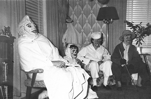 Seated Spooks 1950s