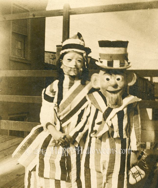 Uncle Sam And Girl 1930s ish