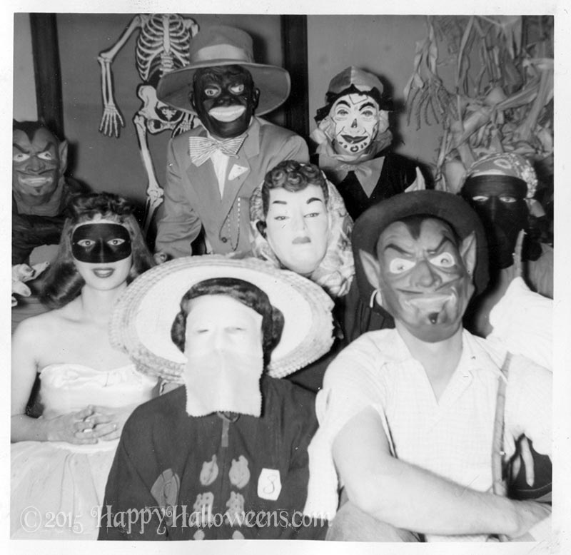Kids Masks 1960s