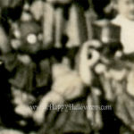 Very blurry detail three from big school gathering - 1940s