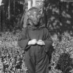 1940s Black Cat mask and costume