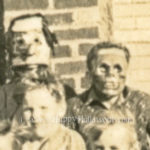 Detail two from group photo from Fredenberg, Minnesota - 1936