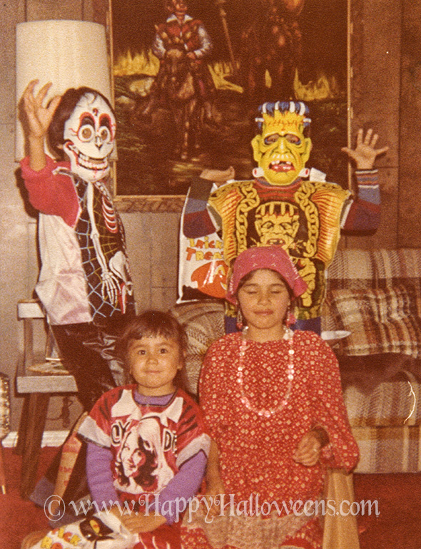 classic and colourful 1970s halloween costumes