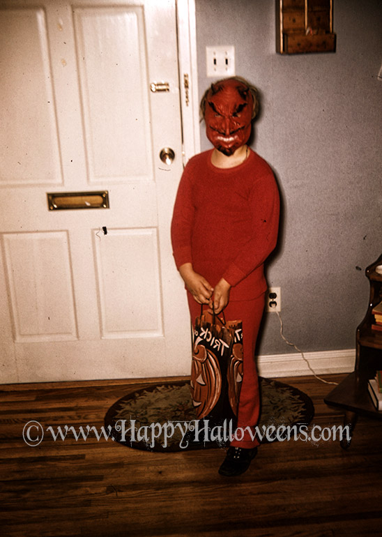 A cheeky young devil