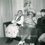 Masked ladies from 1954